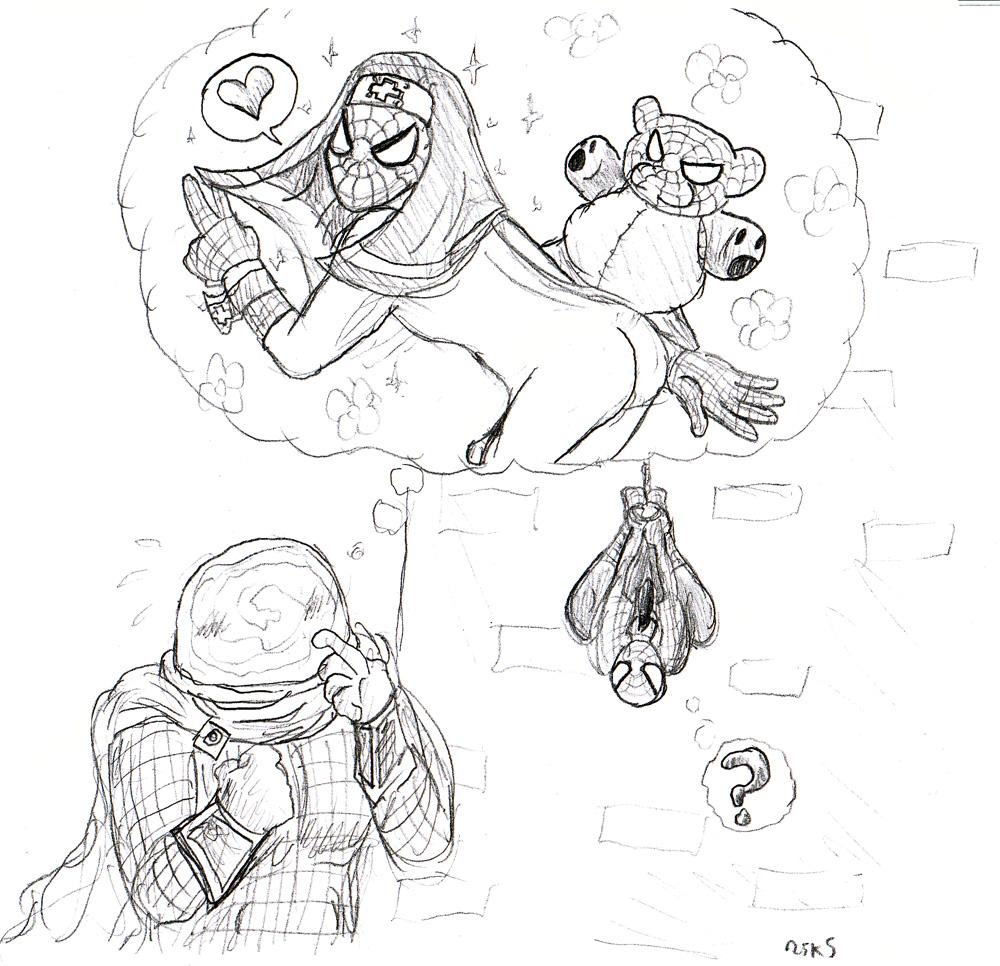 spider-man Gwen stacy spider verse hair