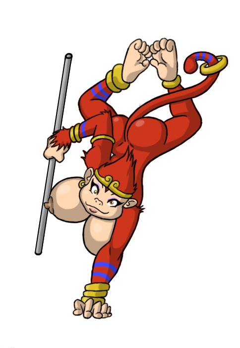 not monkeys nudity do feed the Ran sem hakudaku delmo tsuma no miira tori