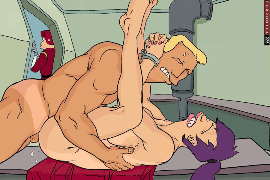 two leela with futurama eyes Trials in tainted space bianca