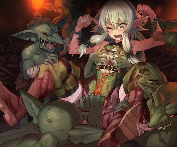 nude elf archer high slayer goblin Star wars rebels