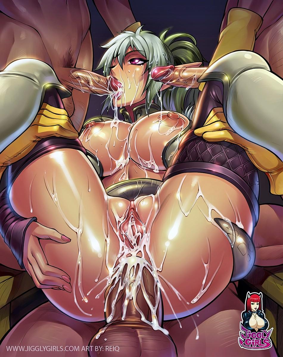 7 karin epic blood blade Madan no ou to senki anime