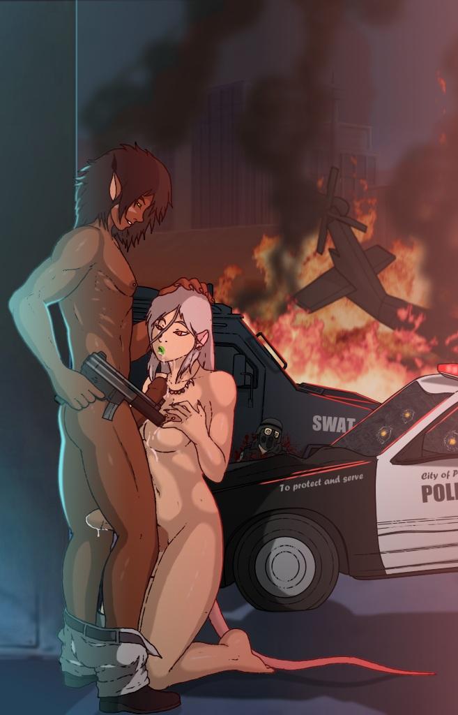 fire in spurts can coconut his gun The last of us sfm porn