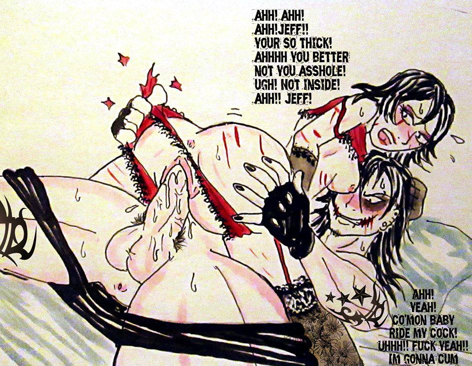 killer jeff anime the version Chica vs mangle part 8