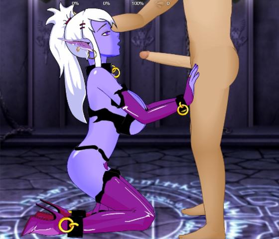 game sex elf scenes dark Ms joke my hero academia