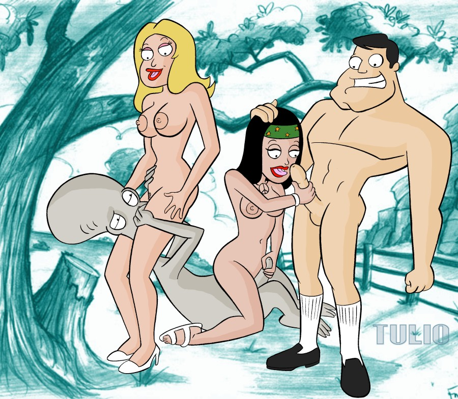 of pictures dad roger from american Cartoon character pee scene list