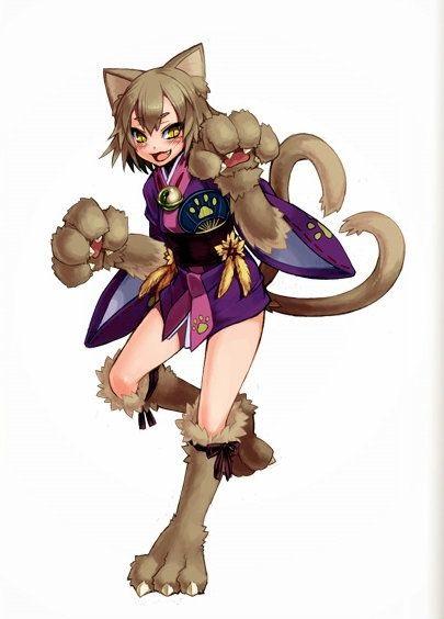 girl hunter x cat hunter How not to summon a demon lord uncensored manga