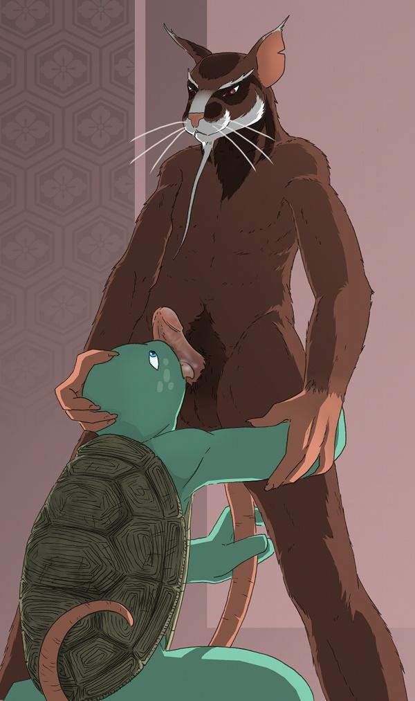 teenage xxx mutant ninja turtles Baldi's basics in education and learning fanart