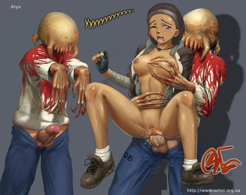 a this zombie is hellscythe F3 frantic frustrated & female