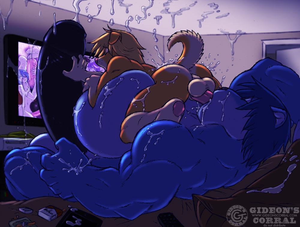 male futa big cock on Koi to xx no femdom