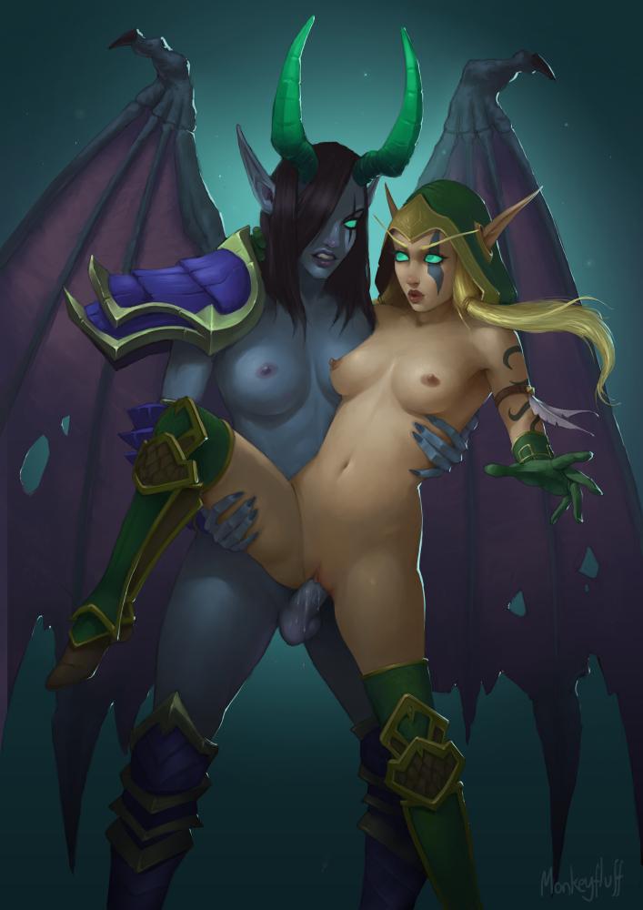 jaina proudmoore and sylvanas windrunner Kicking in dark souls 3