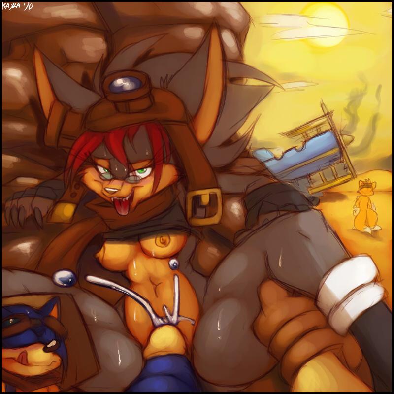 kayla-na Foxy and mangle part 1