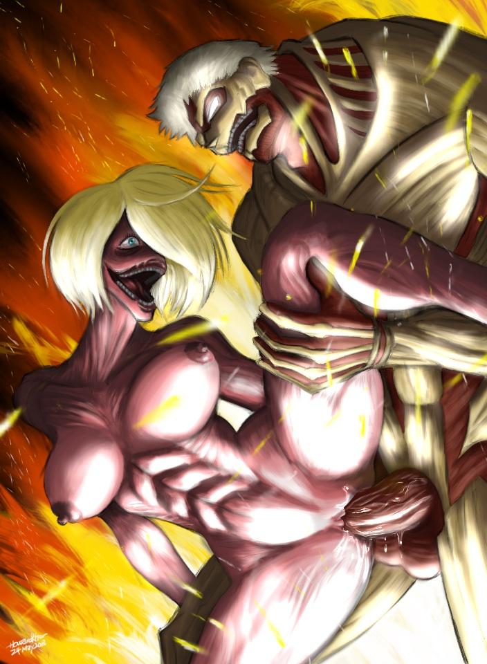 on titans attack titan gif Strike the blood valkyria no oukoku hen