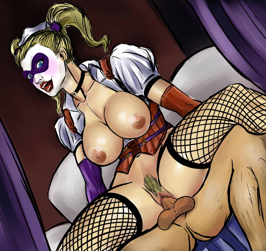 batman porn city arkham quinn harley The puppet from five nights at freddy's