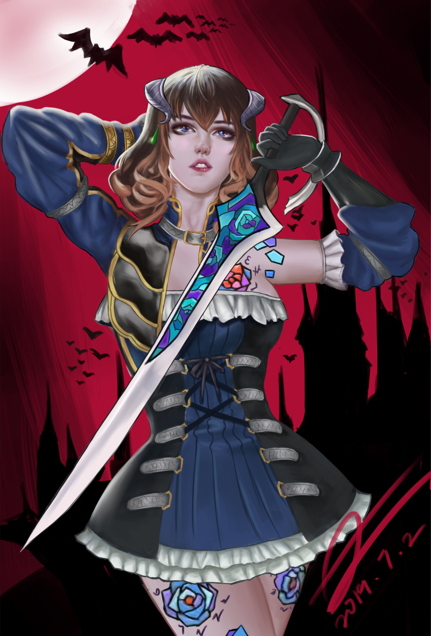 the of bloodstained night blood ritual pool Naruto x tsume fanfiction lemon