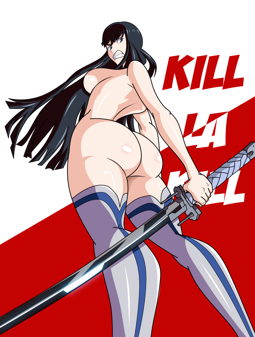 kill la nude satsuki kill Bakunyuu okami ~iyasare hitozuma haramase no yu~