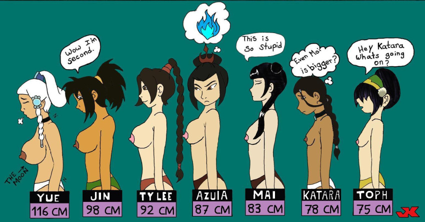 airbender naked last avatar toph the Tales of xillia 2 unicorn horn