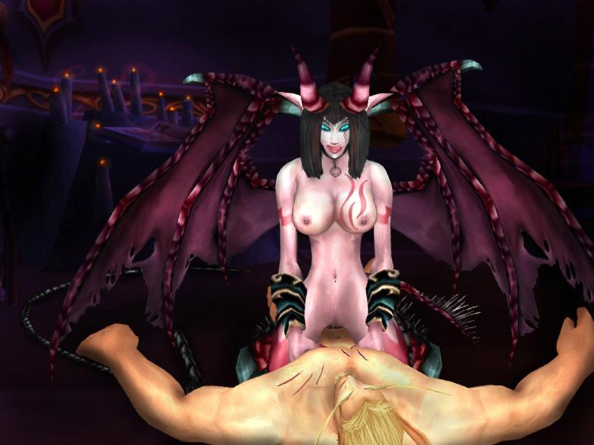 blood demon female hunter elf Shoujo_to_ura_roji