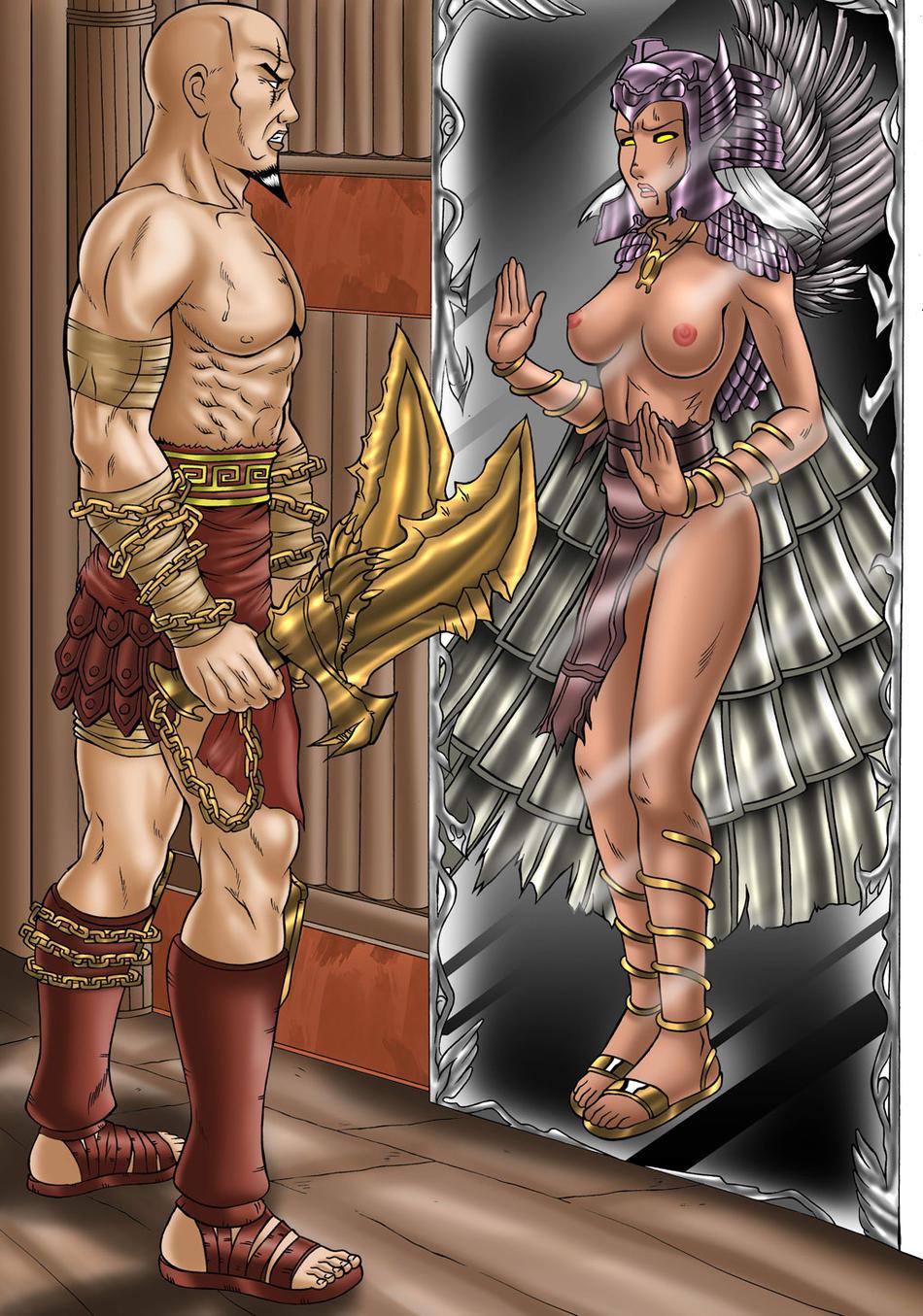 aphrodite god of necklace war Masou gakuen hxh