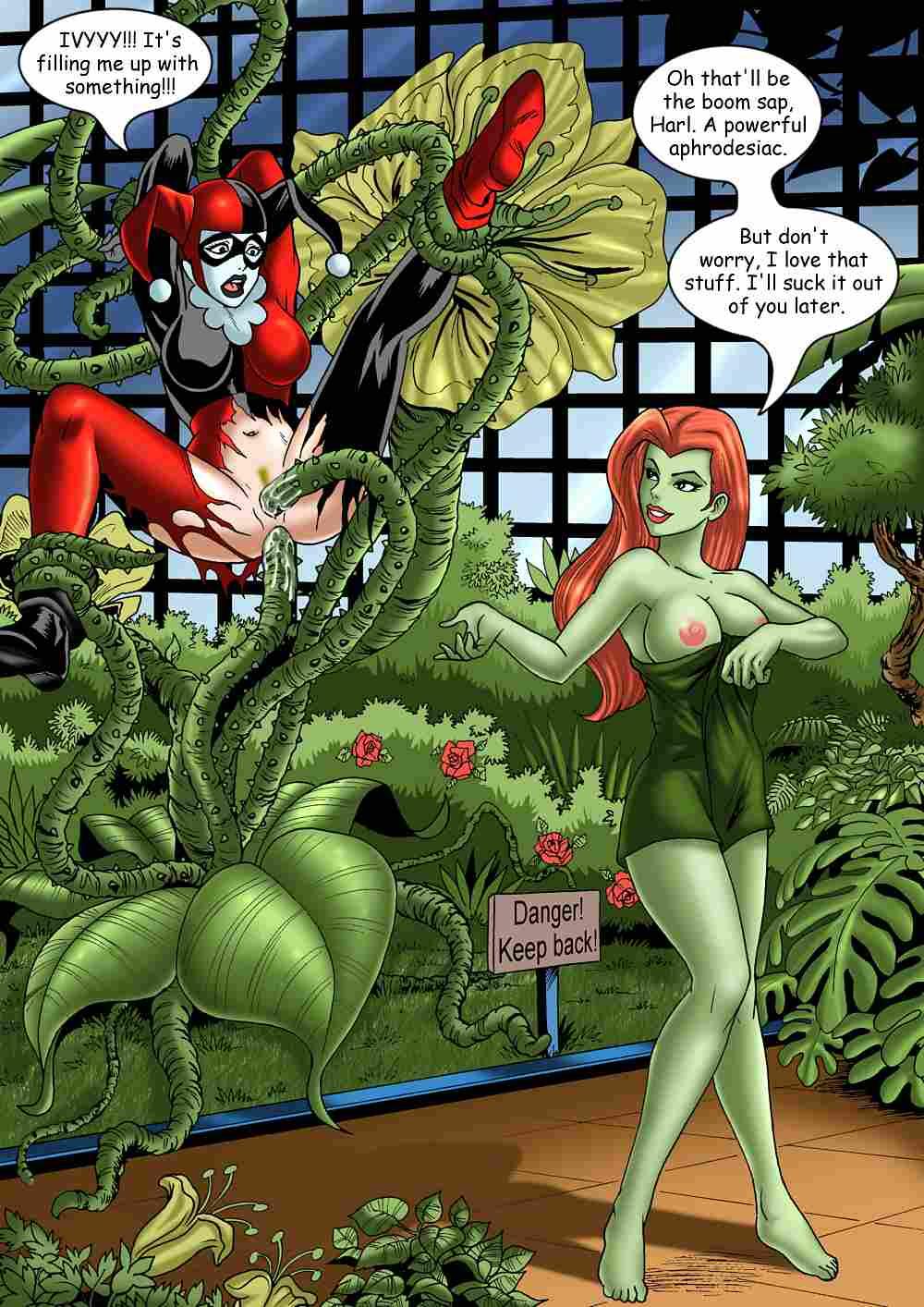 quinn poison harley lesbian ivy Zero darling in the franxx