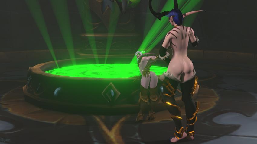 elf hunter demon female blood Captain n the gay master